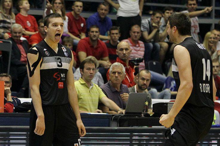 When a photo speaks for itself... Bogdan Bogdanović and Đorđe Gagić (CZ - KK Partizan NIS 62:82 16-06-2014)