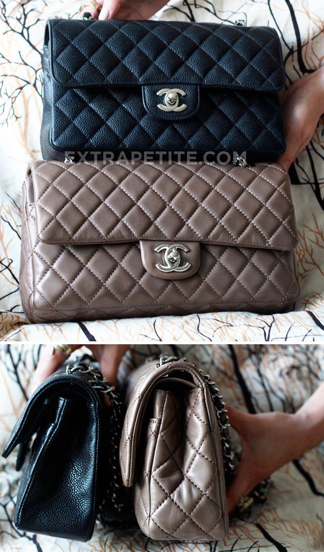Chanel reviews part II - the classic flap bag (for petites)   extrapetite.com