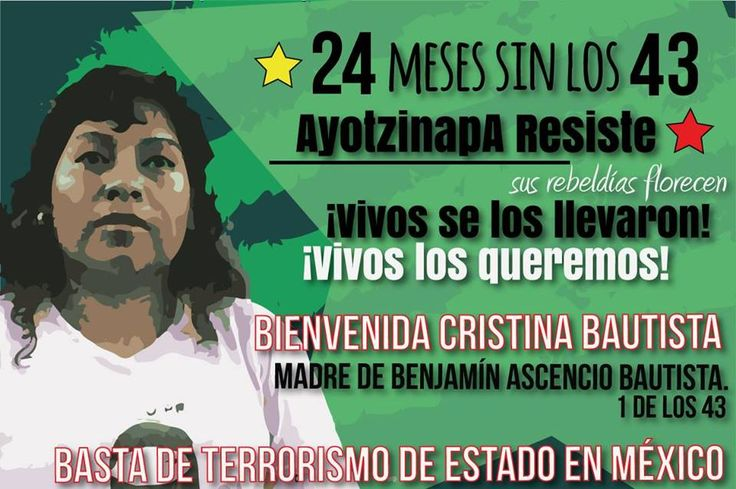 A 24 meses sin los 43. Semana por Ayotzinapa en Buenos Aires