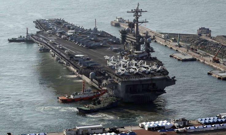 USS Carl Vinson - Jo Jung-ho / AP