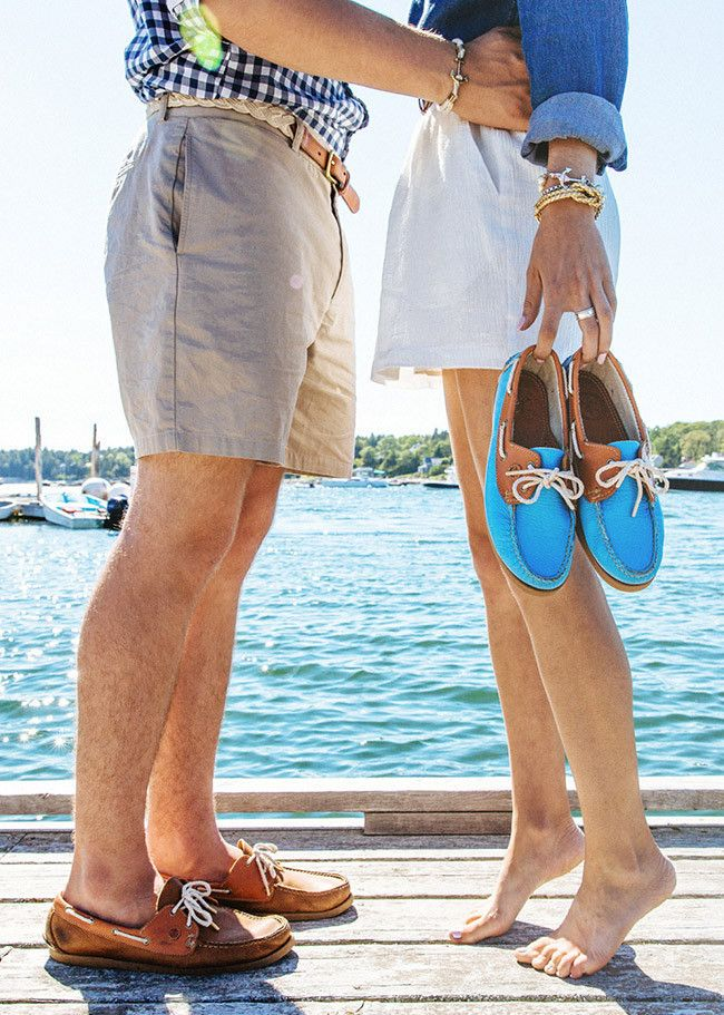 Ocean Blue KJP boat shoes