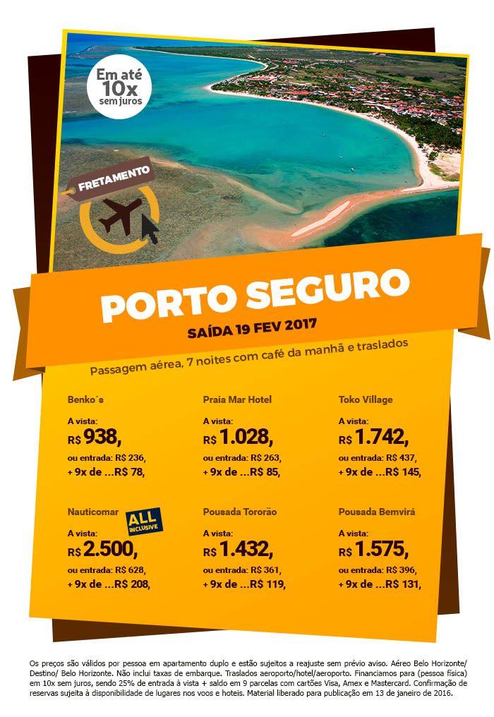 Que tal uns dias em Porto Seguro?