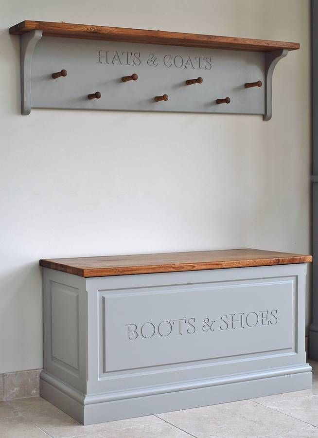 hat and coat rack in choice of colours by chatsworth cabinets