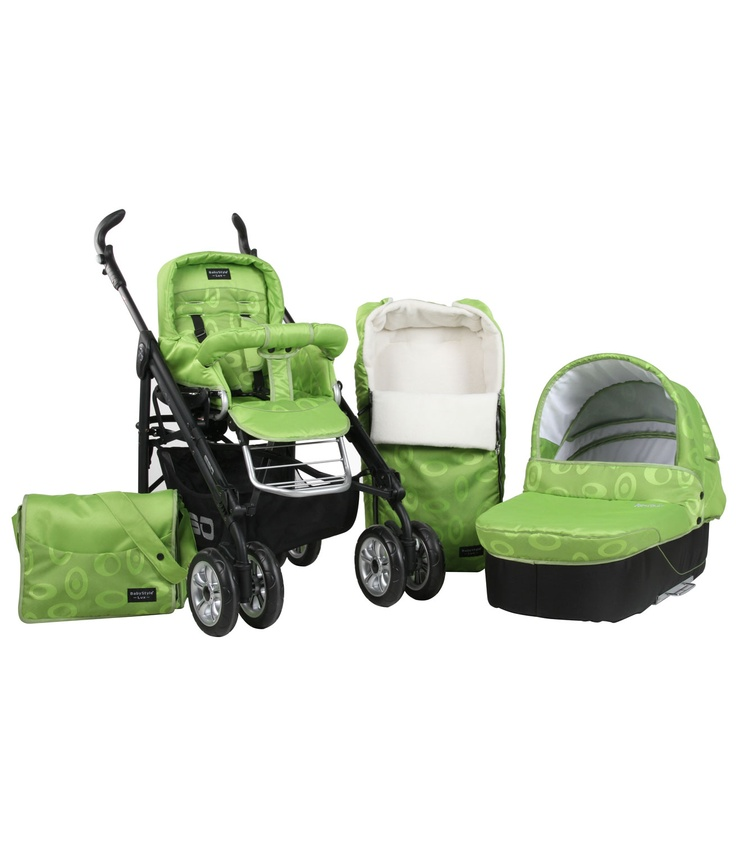 Buy your Babystyle Lux 3in1 Fabric Pack - Elipse Lime from Kiddicare Baby Prams| Online baby shop | Nursery Equipment