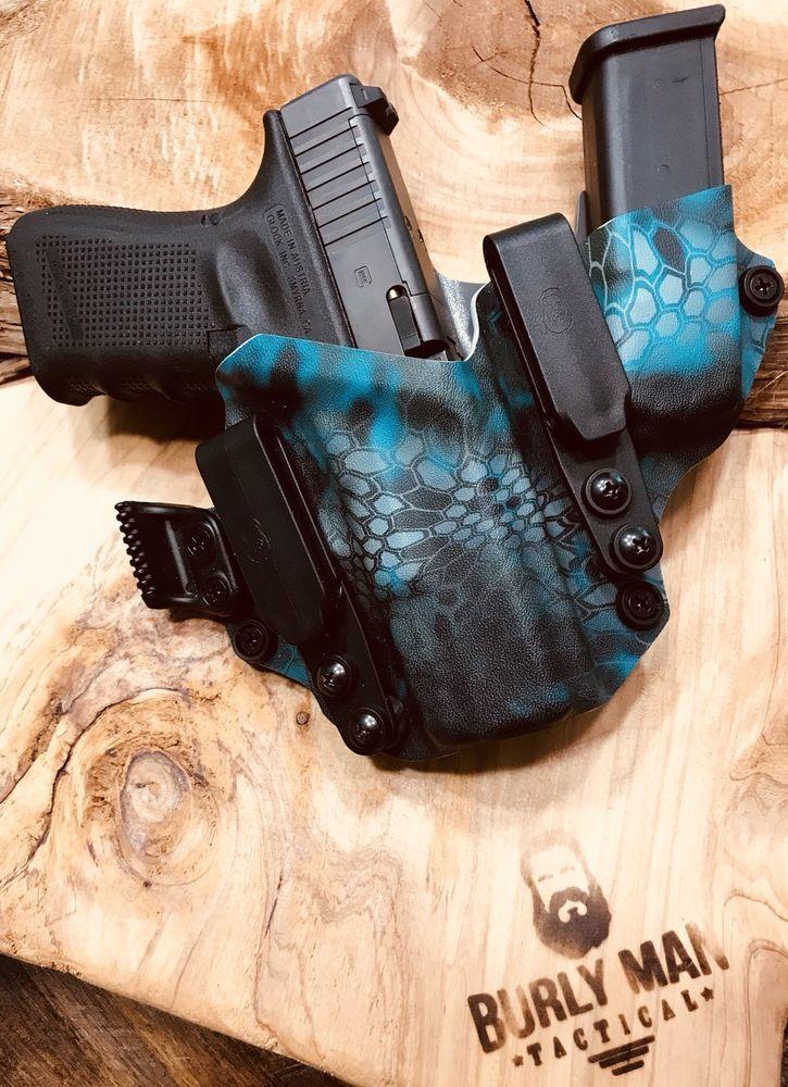 Fits Glock 19 G19 G-19 Kryptek Neptune Kydex SideCar Kydex