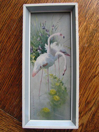 Vernon Ward Swans | Vernon Ward swans by Dilys Treacle Treasures