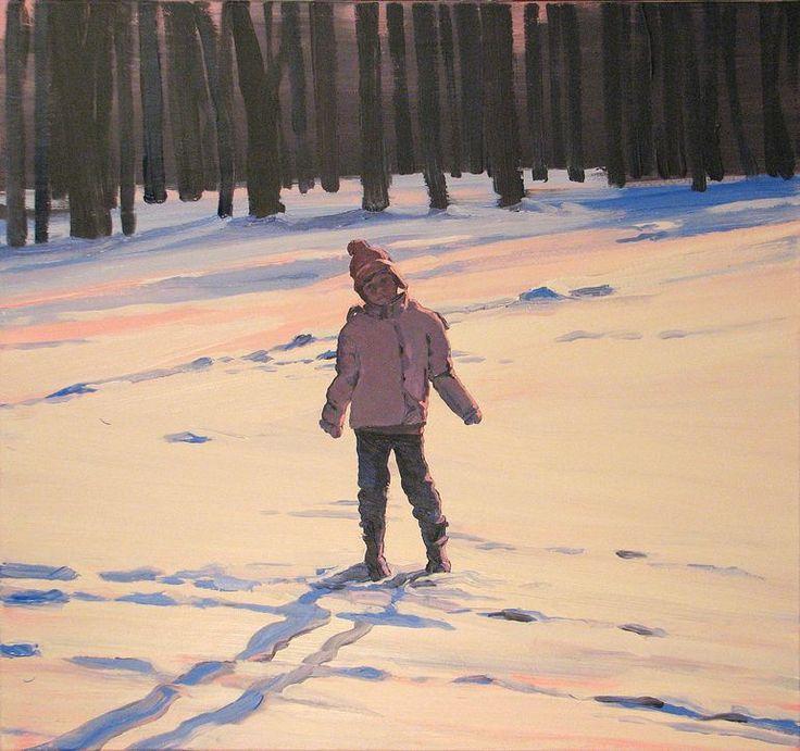 """Saatchi Online Artist: Robert Bubel; Acrylic, 2013, Painting """"'Traces'"""""""