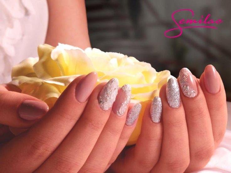 Special Day by Semilac: Semilac 055 Peach Milk, 144 Diamond Ring, Żel Expert…