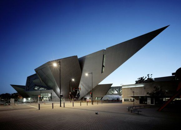 Denver museum of Art  Architect: Daniel Libeskind  Inspiration: the rocky mountain