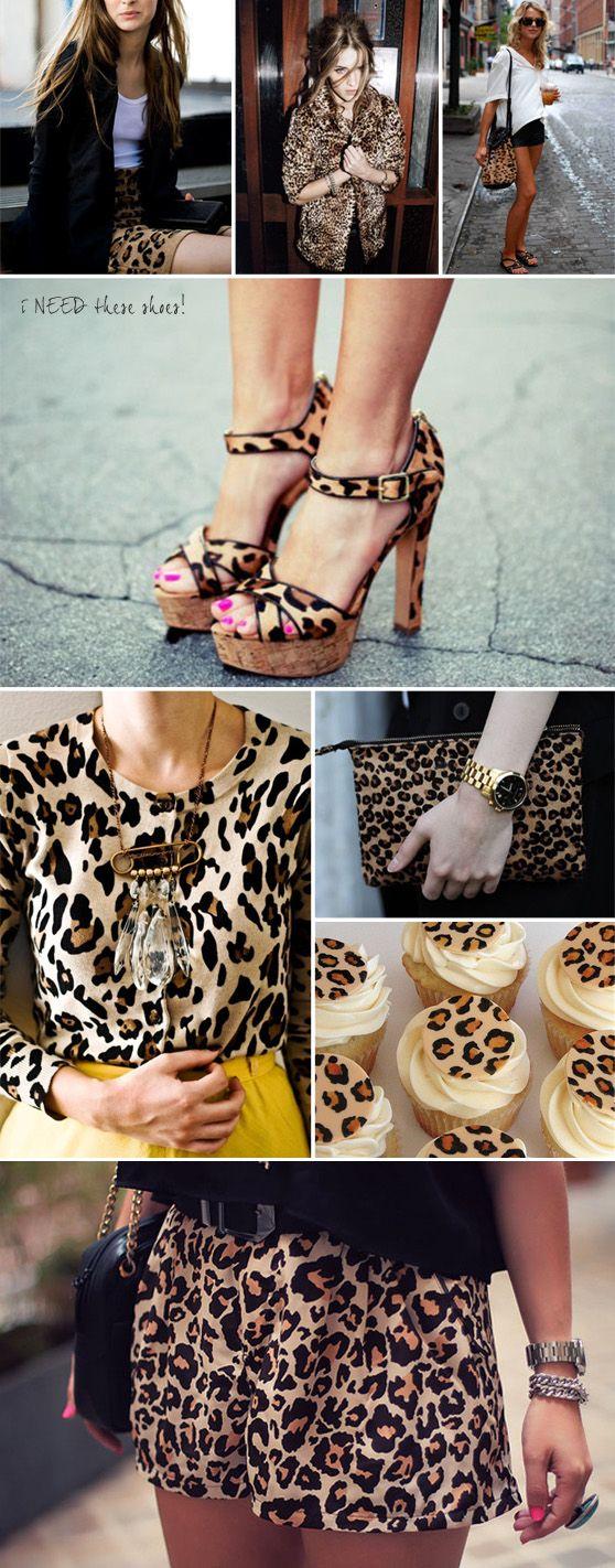 leopard leopard leopard. LOVE it.