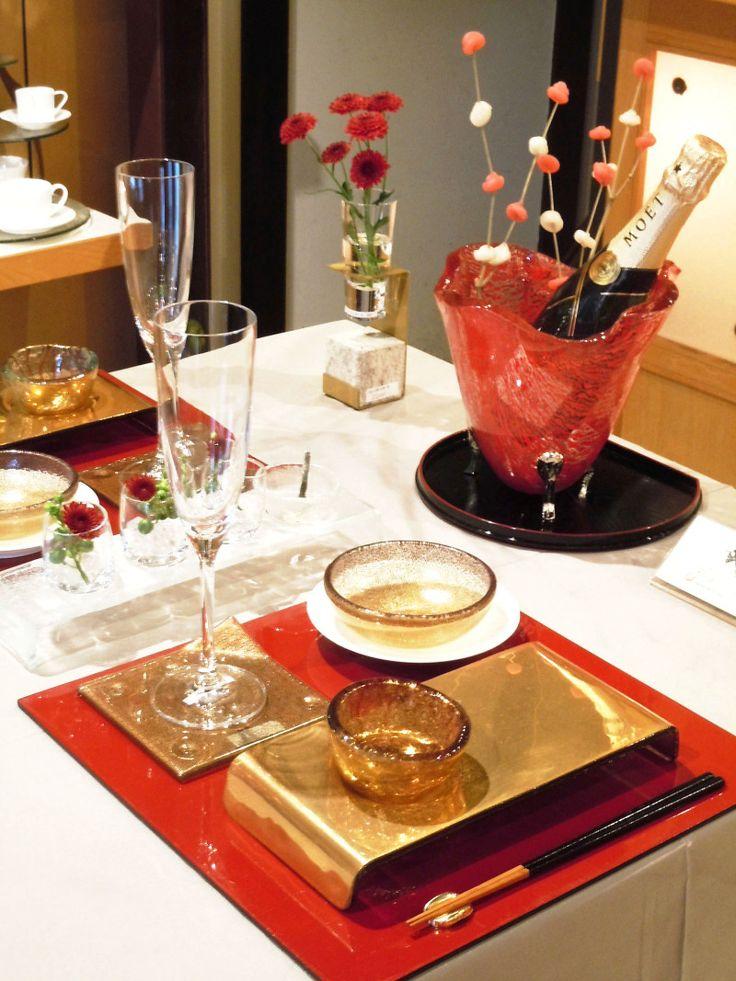 Asian dinnerware style