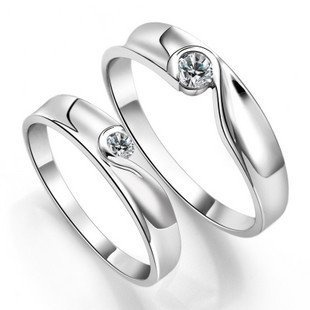 .925 Sterling Silver Plated Pltainum Couples « Clothing Adds for your desire
