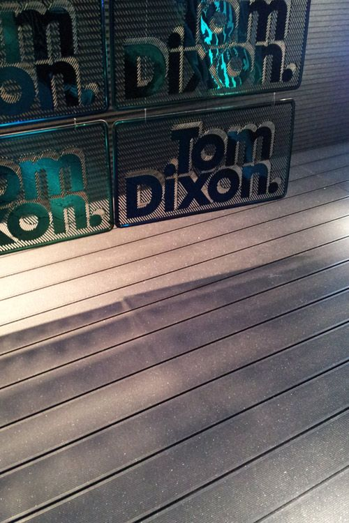 UPM ProFi composite inspiring Tom Dixon in Milan 2012