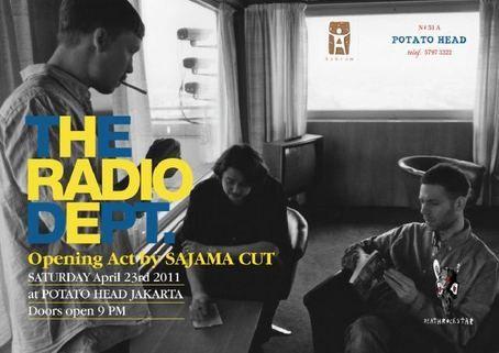 The Radio Dept. - Potato head