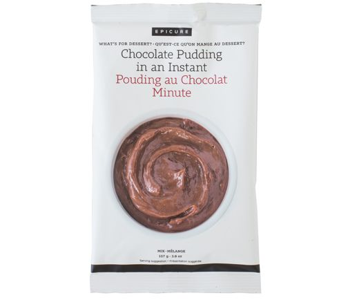Chocolate Pudding in an Instant Mix