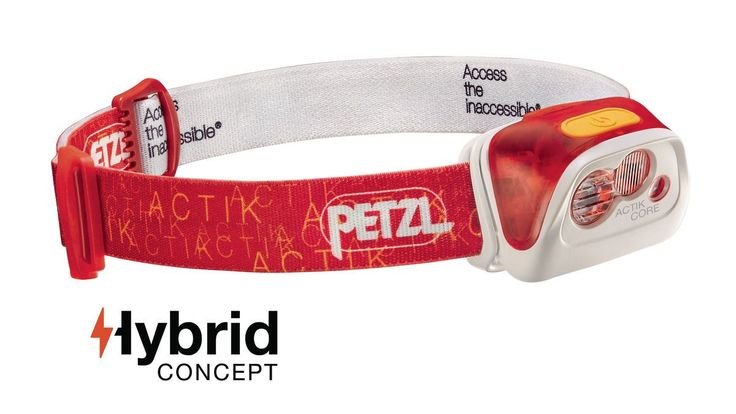 Petzl Actik Core Head Lamp (350 Lumens)
