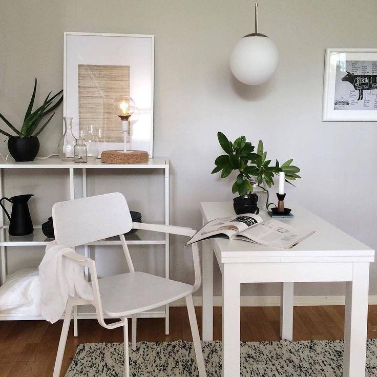 Det är någonting speciellt med ljusa, naturliga kulörer. Vi älskar hur @perfectionmakesmeyawn har kombinerat enkla vita möbler med den ljusgrå kulören Rauk 551.  Har du också målat med Beckers? Tagga din bild med #beckersfärg så vi får se resultatet! #måla #färg #interiör #inspiration #nordiskahem