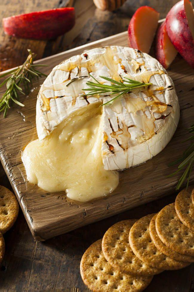 This hot melty gooey baked brie with honey is always a hit at any gathering!  This easy baked brie appetizer is made in 10 minutes from start to finish, and devoured in half that time by a hungry crowd!   When people see hot dripping melted cheese, they lose control.  There is something about gooey warm cheese that attracts people to it like bees to honey.  Stick the cracker into the hot runny Brie and scoop more of it before there is nothing left! This amazingly easy baked Brie appetizer is…