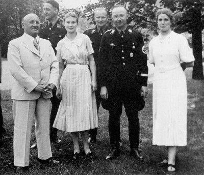 Julius Streicher left and Himmler