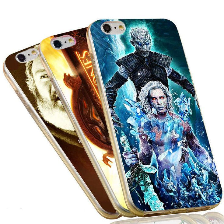 The Game of Thrones Jon Snow Stark Wolf Night King Case For iPhone 5 5S SE 6 6S 7 Plus Soft TPU Phone Cover - Direwolf Shop Direwolf Shop