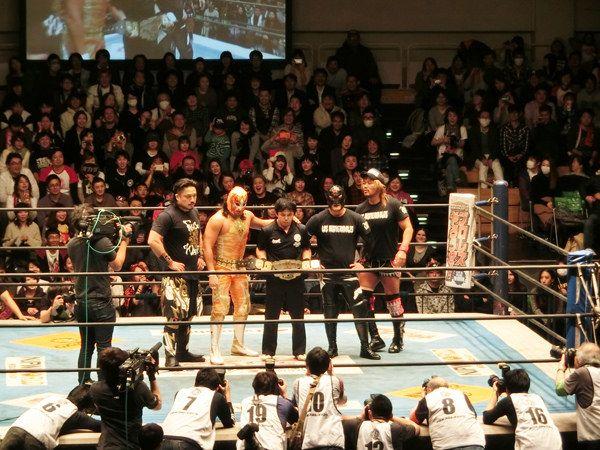 https://flic.kr/s/aHskCgJYQF | 20151219 NJPW en Korakuen Hall | 新日本プロレス 後楽園ホール『Road to TOKYO DOME』