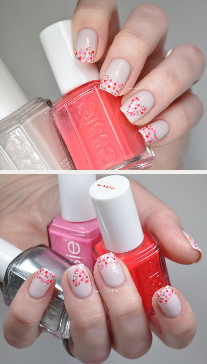 343 best Prom Nails images on Pinterest | Valentine nail art, Heart ...