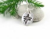 Балерина Балет Кулоны Ожерелье Ожерелье Dancer Щелкунчик Рождество ожерелье подарок для подростков До 50 Отдых ювелирные изделия