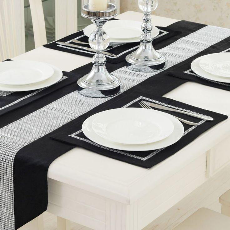 1160 best table inspiration deco de table sweet tables images on sourcingmap sparkle luxury diamante placemat table mat velvet wedding decor 30 x 40cm black amazon junglespirit Choice Image