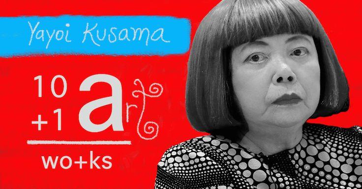 The art of Yayoi Kusama 10+1 Artworks Youtube channel TRECE LUNAS Cover art by Rita Ro