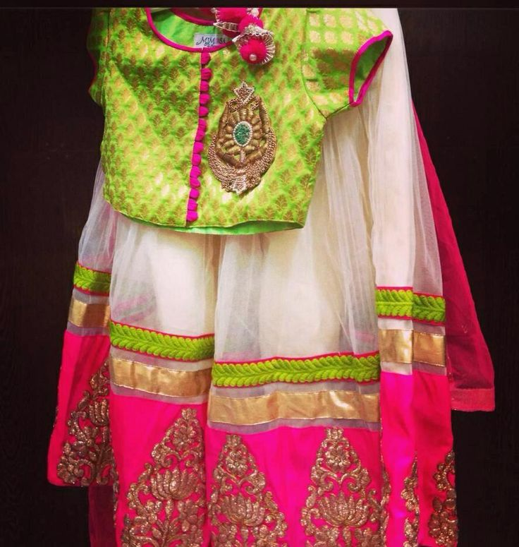 Lehnga choli❤️ pretty colors