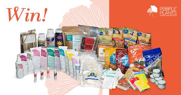 WIN an Organic Living Hamper from People for Plants ($600 of value)