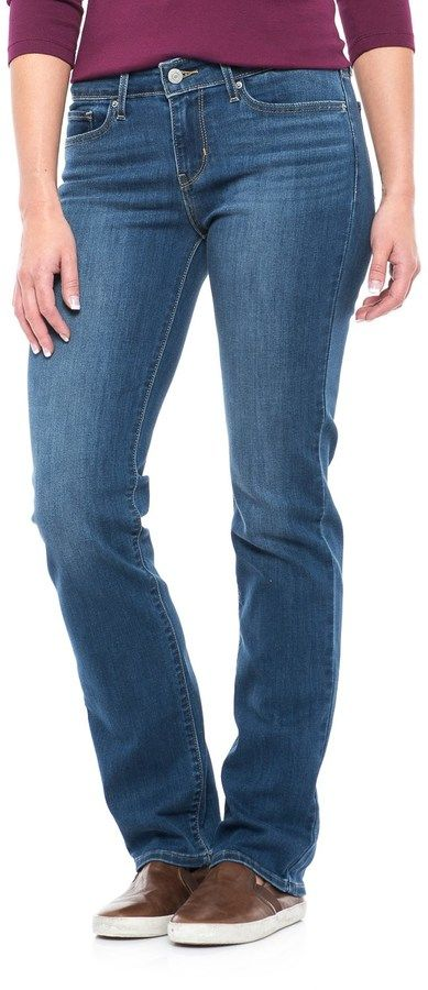 Levi's 714 Stretch Jeans - Straight Leg (For Women)