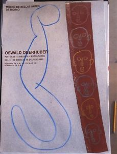 Oswald Oberhuber, Museo de Bellas Artes de Bilbao 1985   eBay