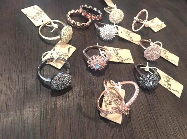 Bring a little sparkle into your week with one of our sparkling Euro Crystal rings available in Gold; Rose Gold; Silver; Black and Rhodium colours  #JangiAccessories