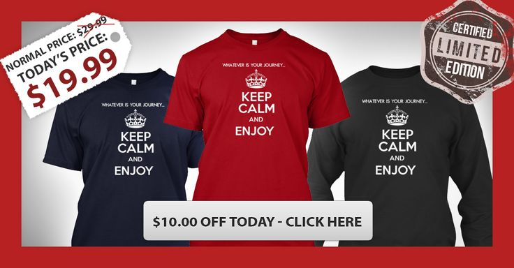Whatever is Your Journey...Enjoy | Teespring
