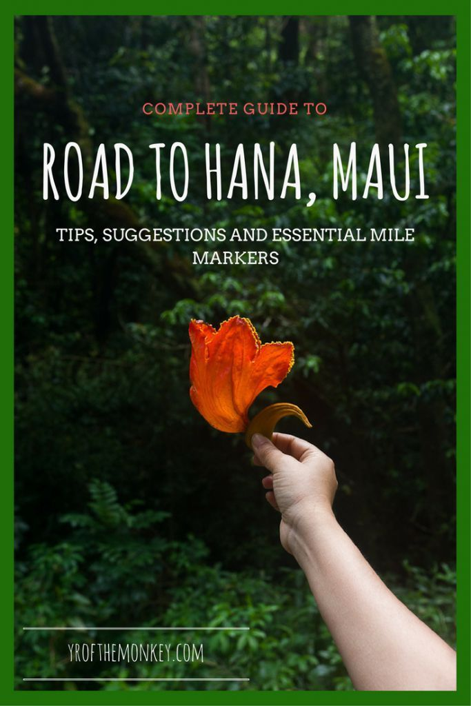 This is the ultimate guide to Road to Hana, a must do road trip in Maui, Hawaii, USA
