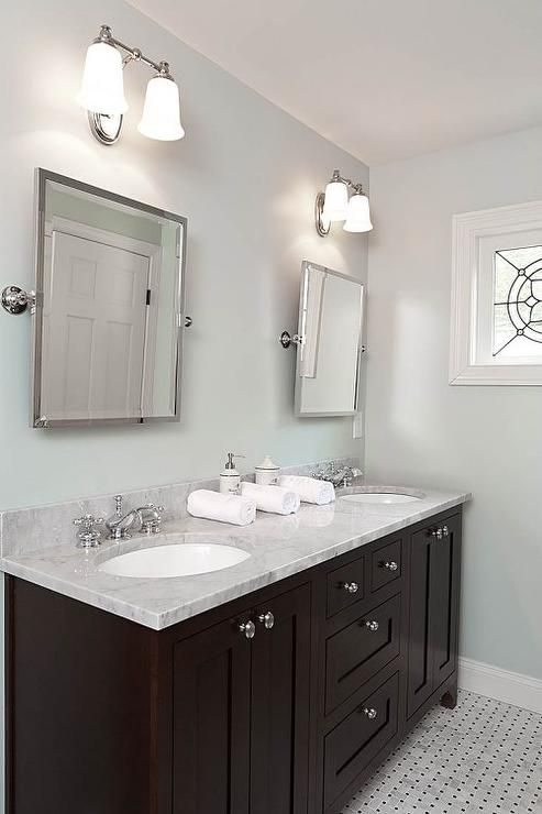 25 best ideas about dark vanity bathroom on pinterest for Black and brown bathroom ideas