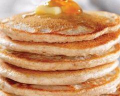 Pancakes au lait de noisette