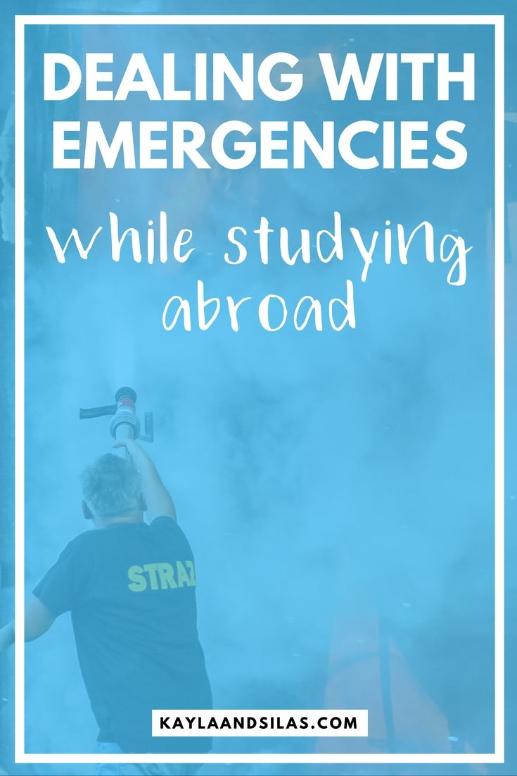 Dealing with Emergencies While Studying Abroad | How to Handle Unexpected Situations During Study Away | The Adventures of Kayla and Silas