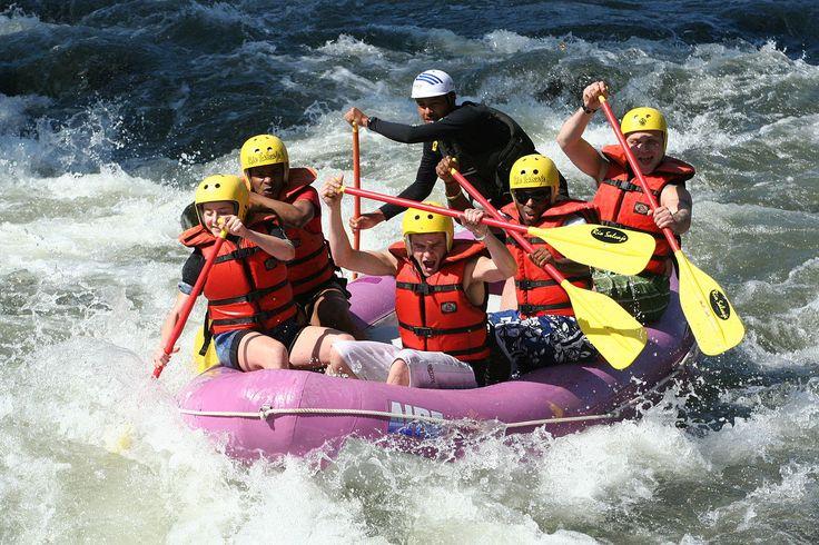 Rafting... adrenalina al límite.