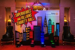 Superhero Themed Party - Chunky Onion Productions Ltd.
