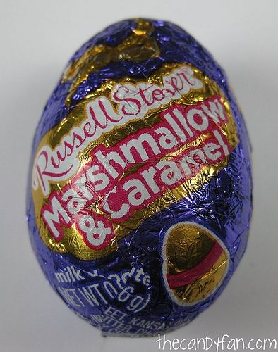 Russell Stover Marshmallow Amp Caramel Egg Food Chocolate