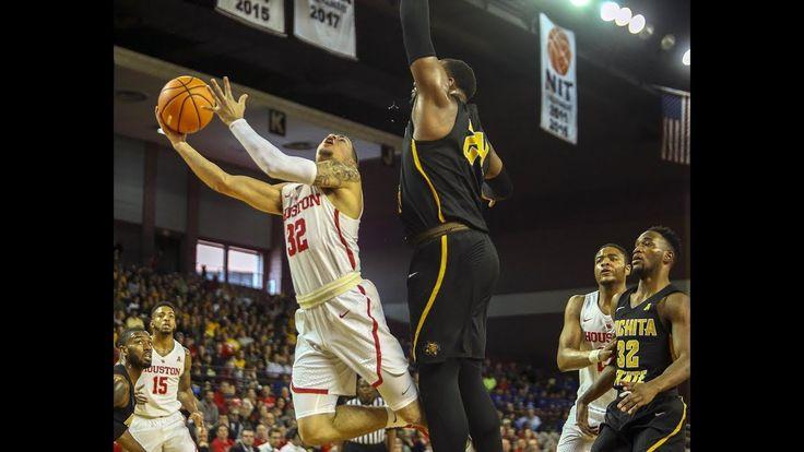 Men's Basketball Highlights - Houston 73, Wichita State 59 - YouTube