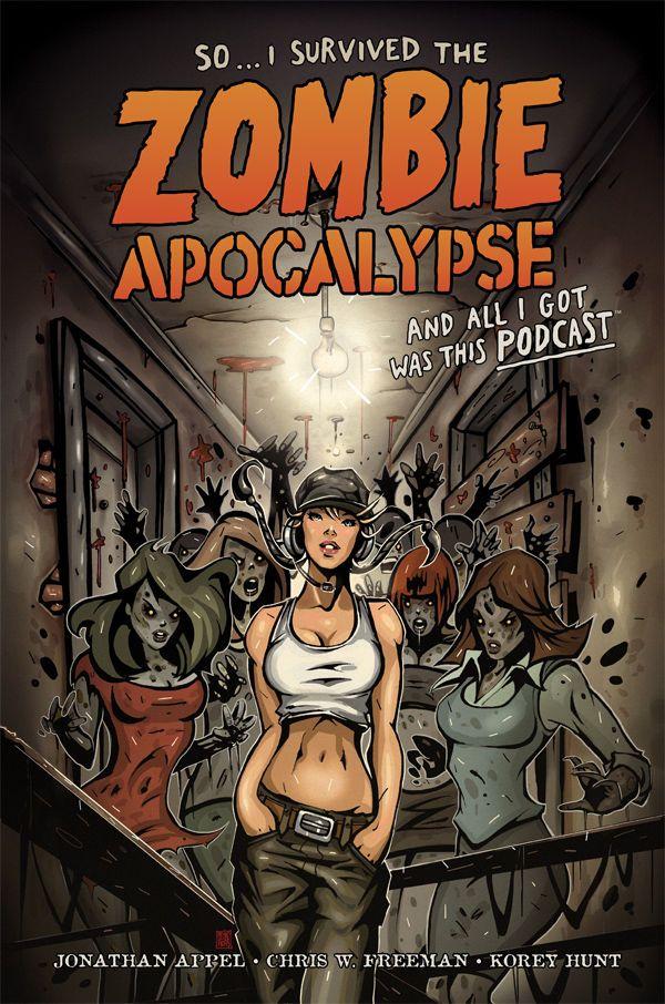 Una copertina sugli zombie un po' diversa e molto divertente. A volte bastano pochi dettagli  So... I Survived the Zombie Apocalypse