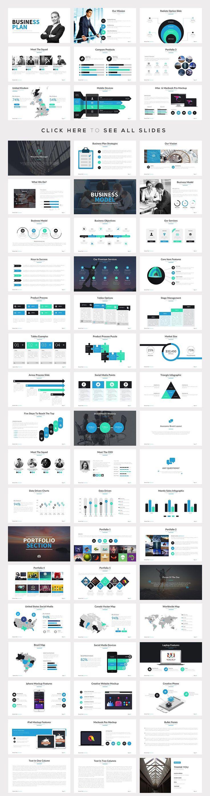 Best PowerPoint Templates Bundle by SlidePro on @creativemarket