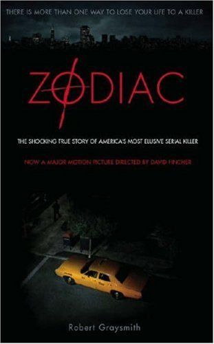 Zodiac: The Shocking True Story of America's Most Elusive Serial Killer: The Shocking True Story of America's Most Bizarre Mass Murderer by Robert Graysmith, http://www.amazon.co.uk/dp/1845765311/ref=cm_sw_r_pi_dp_mM0Psb1MGJNJ5