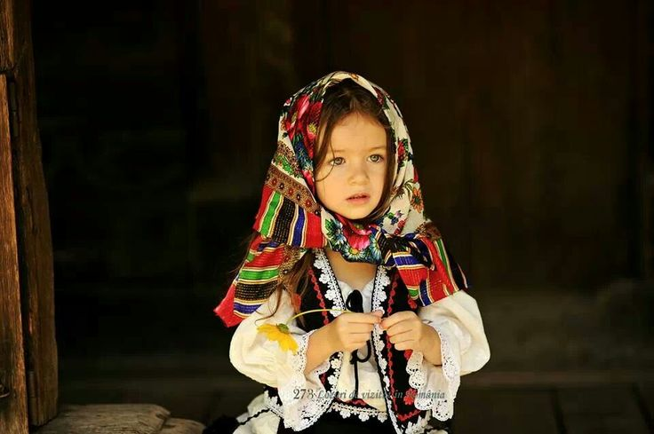 Adorable little Romanian girl ♥