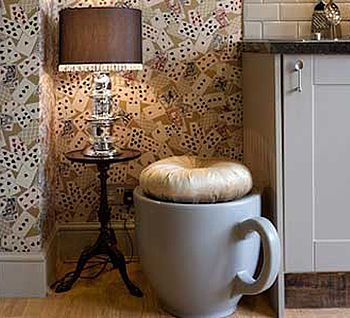 Great For An Alice In Wonderland Themed Roomed   Teacup Stool