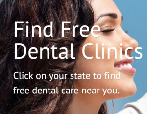 #Free Dental Care is a user contributed database of nationwide dental clinics that offer any type of oral hygiene services for dental work.