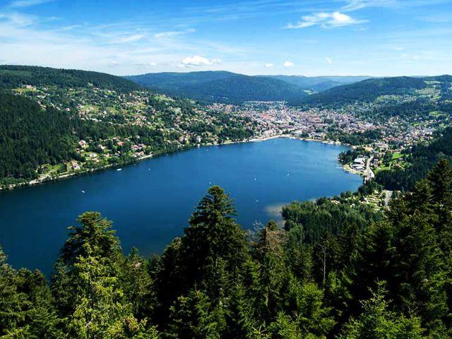 Visiter les Vosges - Lac de Gerardmer